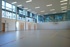 Sport court - indoor Royalty Free Stock Images