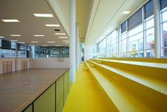 Sport court - indoor Stock Image