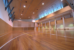 Sport court - indoor Stock Photography