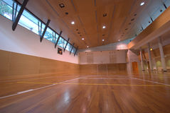 Sport court - indoor Royalty Free Stock Photos