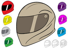 Sport crash helmet Royalty Free Stock Photography