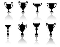 Sport cups and awards Royalty Free Stock Photo