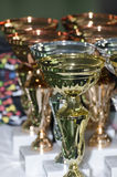 Sport cups Stock Image