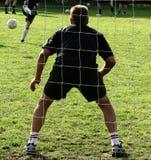 Sport, custode di obiettivo Fotografia Stock Libera da Diritti