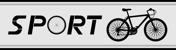 Sport cycle Royalty Free Stock Image