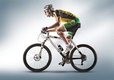 sport cyclist fotografie stock libere da diritti