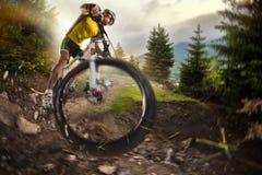 sport cyklist Royaltyfria Foton