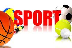 Sport 3D Immagine Stock