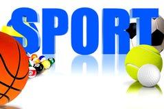 Sport 3D Fotografia Stock
