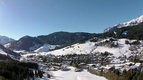 Sport d'hiver d'alpes de l'Autriche clips vidéos