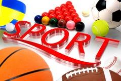 Sport 3D Royalty Free Stock Photo