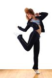 Sport dancer in ballroom Stock Photography