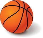 sport de basket-ball de la bille 3d illustration de vecteur