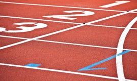 Sport de concurrence Images libres de droits