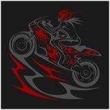 Sport de coureur de moto Images stock