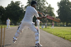 Sport de cricket Photo stock