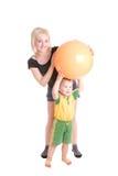 Sport de famille Photos libres de droits