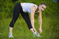Sport de femme Images stock