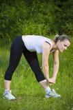 Sport de femme Photo libre de droits