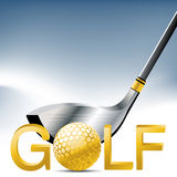 Sport de golf Photo libre de droits