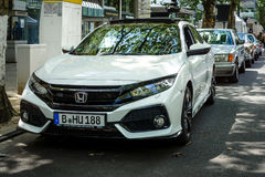 Sport de Honda Civic 1,5 de voiture compacte plus, 2017 Image libre de droits