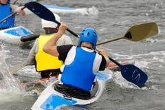 Sport de kayak Photographie stock libre de droits