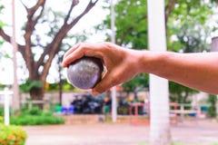 Sport de Petanque photo stock