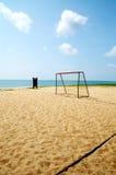 Sport de plage Photographie stock