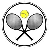 Sport de tennis Images stock