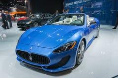 Sport del convertibile di Maserati GranTurismo fotografie stock