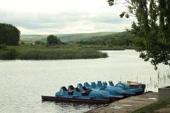 Sport del lago Fotografia Stock Libera da Diritti