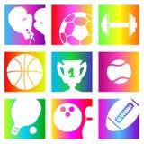 Sport del Rainbow Immagini Stock Libere da Diritti