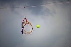 Sport dell'asiatico di Sepaktakraw del cerchio Fotografia Stock Libera da Diritti