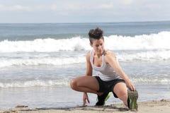 Sport della donna Fotografia Stock Libera da Diritti