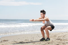 Sport della donna Fotografie Stock