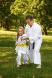 Sport della famiglia Fotografia Stock Libera da Diritti