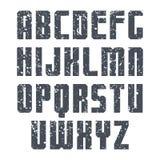 Sport della fonte di caratteri sans serif Fotografia Stock Libera da Diritti