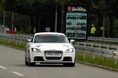 SPORT DES AUTO-AUDI TT Stockfotos