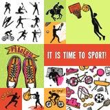 Sport Design Concept Royalty Free Stock Photos