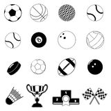 Sport design elements Stock Photo