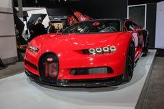 Sport di Bugatti Chiron Fotografie Stock
