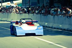 Sport di Dallara alla bandiera 2017 dell'argento di Vernasca Fotografia Stock Libera da Diritti