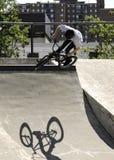Sport di divertimento di BMX Fotografia Stock