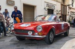 Sport di Fiat 124 Fotografie Stock Libere da Diritti