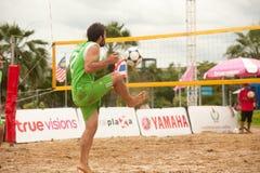 Sport di Footvolley. Immagine Stock