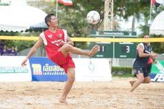 Sport di Footvolley. Fotografia Stock Libera da Diritti