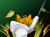 Sport di golf Fotografie Stock
