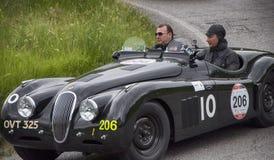 Sport 1950 di JAGUAR XK 120 OTS Fotografia Stock