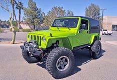 Sport di Jeep Wrangler Immagine Stock
