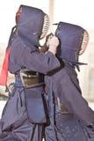 Sport di Kendo Fotografie Stock